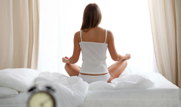 yoga and meditation for bedtime